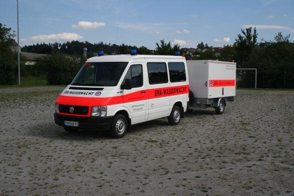 Wasserrettungswagen der Wasserwacht Arnstorf